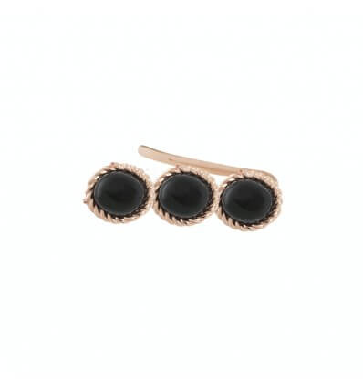Earcuff Tiny Or Rose Onyx